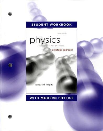 9780321753083: Student Workbook for Physics for Scientists and Engineers: A Strategic Approach with Modern Physics