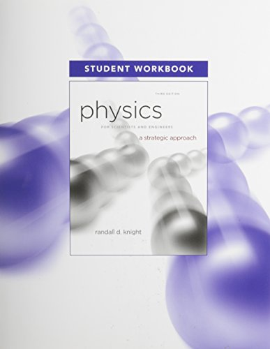 9780321753090: Student Workbook for Physics for Scientists and Engineers: A Strategic Approach, Standard Edition