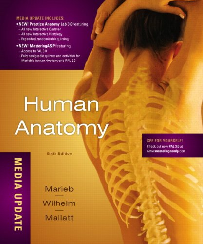 9780321753267: Human Anatomy, Media Update Plus MasteringA&P with eText -- Access Card Package (6th Edition)