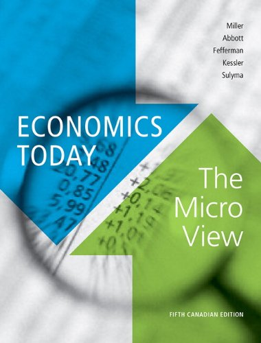 9780321753502: Economics Today: The Micro View, Fifth Canadian Edition with MyEconLab (5th Edition)
