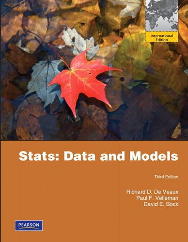 9780321753724: Stats: Data and Models: International Edition