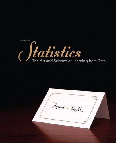 9780321755940: Statistics: The Art and Science of Learning from Data (3rd Edition)
