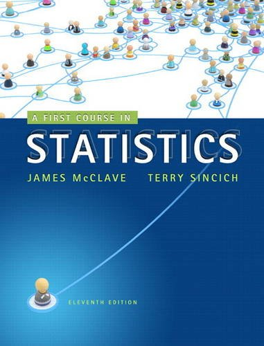 9780321755957: First Course in Statistics, A