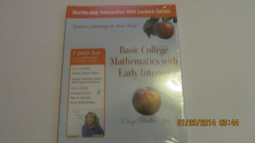 9780321756428: Interactive DVD Lecture Series for Basic College Mathematics with Early Integers