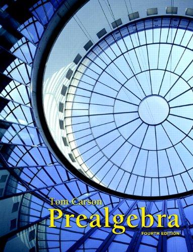9780321756954: Prealgebra (4th Edition)
