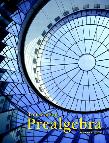 9780321756954: Prealgebra (4th Edition)