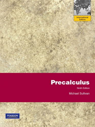 PRECALCULUS SULLIVAN 9TH EDITION PDF