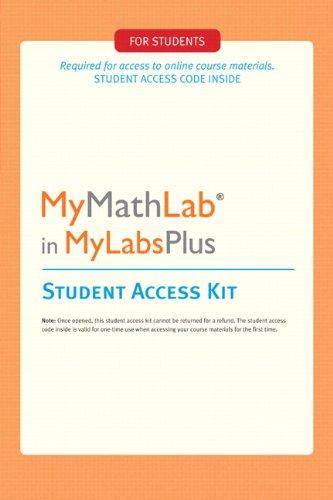 9780321757395: MyMathLab Plus: Student Access Kit
