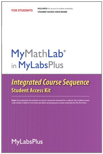 9780321759153: MyMathLab Plus Integrated Course Sequence -- Standalone Access Card