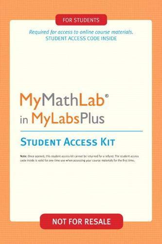 MyMathLab-MyLabsPlus: Pearson