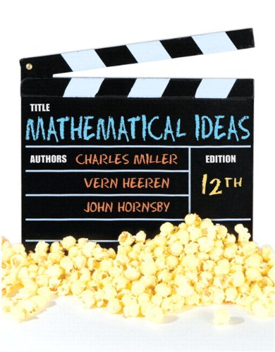 9780321759917: Mathematical Ideas plus MyMathLab with Pearson eText -- Access Card Package (12th Edition)