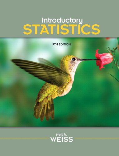 9780321759962: Introductory Statistics, 9th Edition