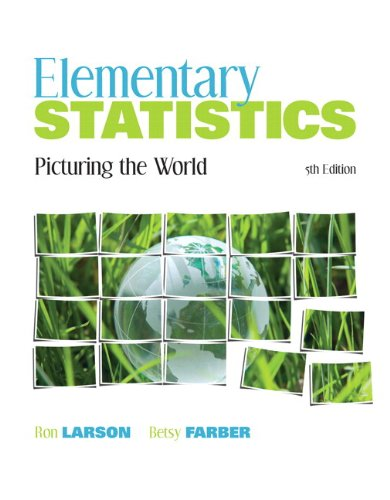9780321759986: Elementary Statistics: Picturing the World plus MyMathLab/MyStatLab Student Access Code Card (5th Edition)