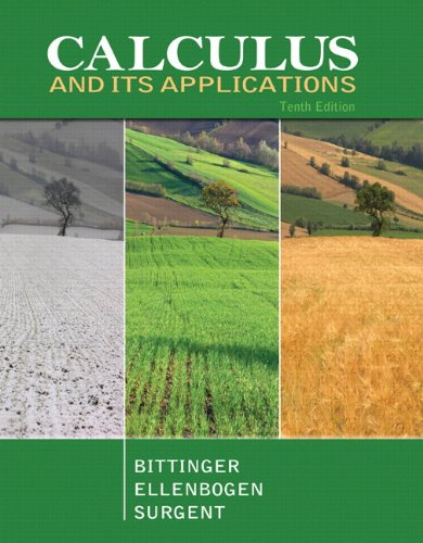 Calculus and Its Applications plus MyMathLab with: Marvin L. Bittinger;