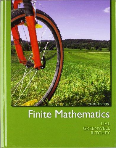 9780321760036: Finite Mathematics plus MyMathLab/MyStatLab -- Access Card Package (10th Edition)