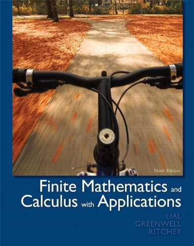 9780321760043: Finite Mathematics and Calculus with Applications plus MyMathLab/MyStatLab -- Access Card Package (9th Edition)
