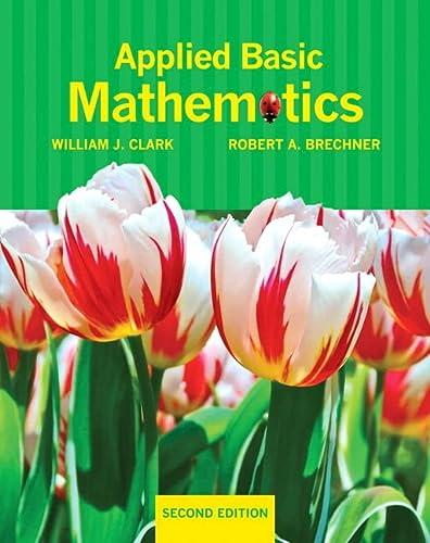 9780321760104: Applied Basic Mathematics plus MyMathLab/MyStatLab -- Access Card Package (2nd Edition)