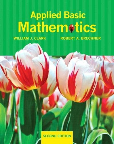 9780321760104: Applied Basic Mathematics plus MyMathLab/MyStatLab -- Access Card Package (2nd Edition)