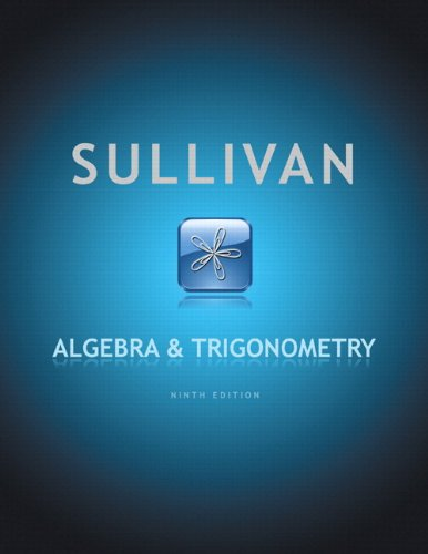 9780321760654: Algebra and Trigonometry plus MyMathLab with Pearson eText -- Access Card Package (9th Edition)