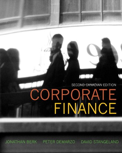 9780321761927: Corporate Finance, Second Canadian Edition with MyFinanceLab (2nd Edition)