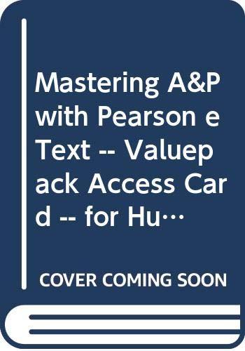 MasteringA&P with Pearson EText - Valuepack Access: Marieb, Elaine N.,