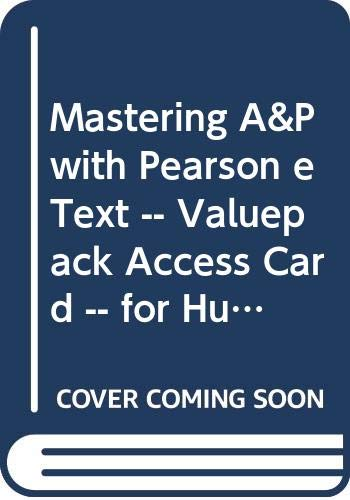 9780321765079: MasteringA&P with Pearson eText -- Valuepack Access Card -- for Human Anatomy, Media Update (ME Component)