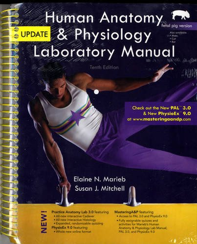 9780321765598: Human Anatomy & Physiology Laboratory Manual, Fetal Pig Version, Update (10th Edition)