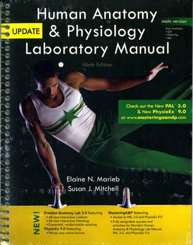 9780321765604: Human Anatomy & Physiology Laboratory Manual, Main Version, Update (9th Edition)