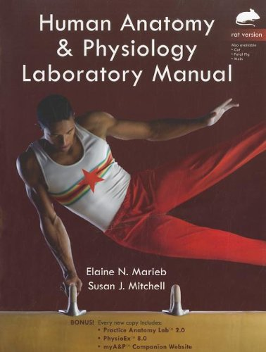 Human Anatomy & Physiology : Rat Version: Marieb, Elaine N.;