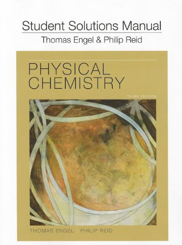 9780321766687: Student's Solutions Manual for Physical Chemistry