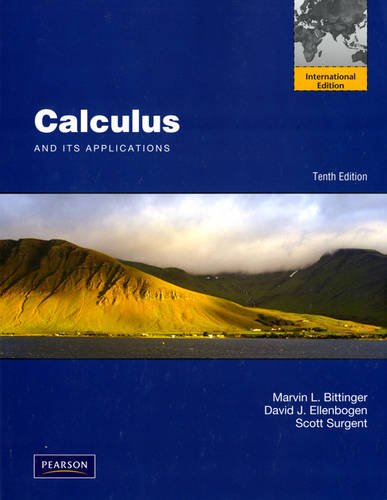 9780321766984: Calculus and Its Applications