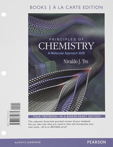 9780321767462: Principles of Chemistry: A Molecular Approach, Books a la Carte Plus MasteringChemistry with eText -- Access Card Package (2nd Edition)