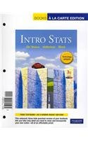 9780321772114: Intro Stats Technology Update, Books a la Carte Plus MML/MSL Student Access Code Card (for ad hoc valuepacks) (3rd Edition)