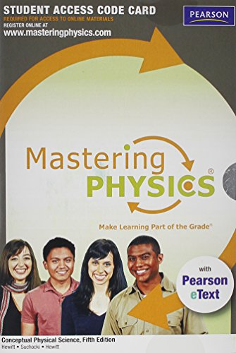 9780321773074: MasteringPhysics with Pearson eText -- Standalone Access Card -- for Conceptual Physical Science (5th Edition)