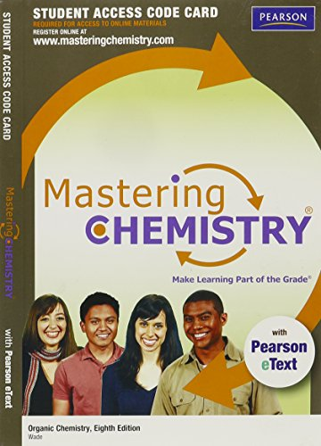 MasteringChemistry with Pearson eText -- Standalone Access