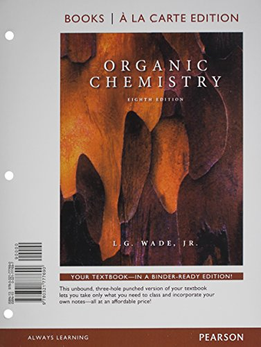 Organic Chemistry, Books a la Carte Plus MasteringChemistry with eText -- Access Card Package (8th ...
