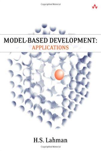 9780321774071: Model-Based Development: Applications