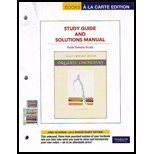9780321774378: Organic Chemistry Study Guide and Solutions Manual, Books a la Carte Edition (6th Edition)