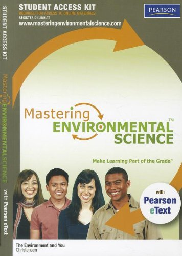 9780321776242: MasteringEnvironmentalScience with Pearson eText -- Standalone Access Card -- for The Environment and You