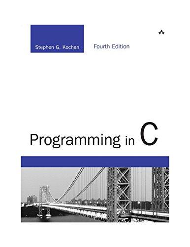 9780321776419: Programming in C (Developer's Library)