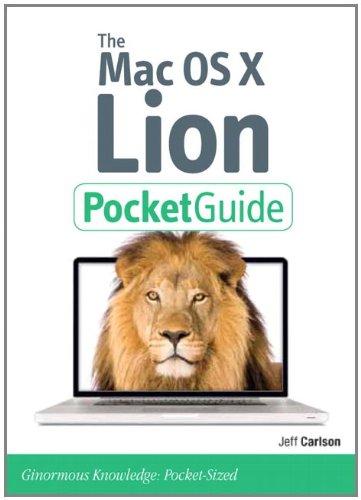 9780321776617: Mac OS X Lion Pocket Guide (Peachpit Pocket Guide)