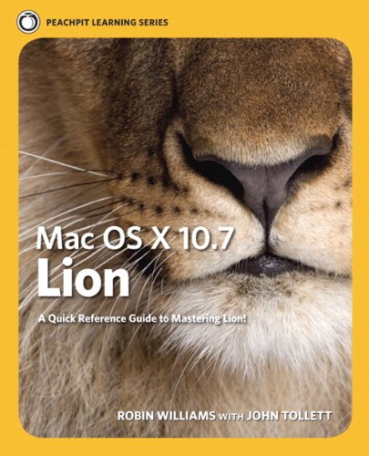 9780321777010: Mac OS X Lion: Peachpit Learning Series