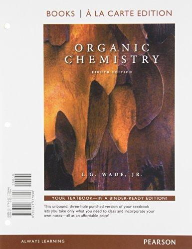 9780321777690: Organic Chemistry, Books a la Carte Edition (8th Edition)
