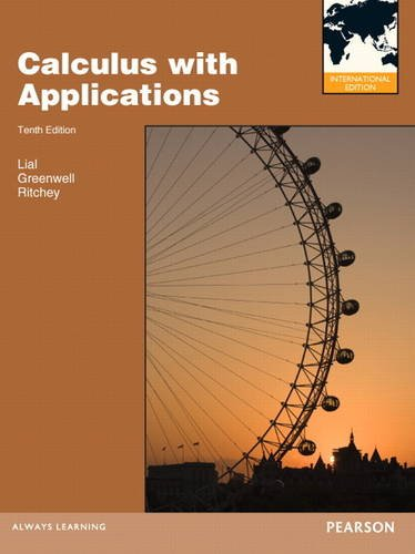 9780321778680: Calculus with Applications
