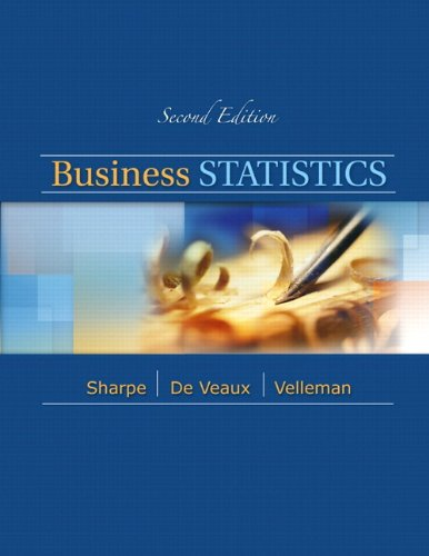 9780321780164: Business Statistics with XLSTAT Access Kit (2nd Edition)