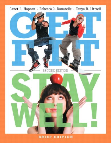 9780321780362: Get Fit, Stay Well! Brief Edition (2nd Edition)