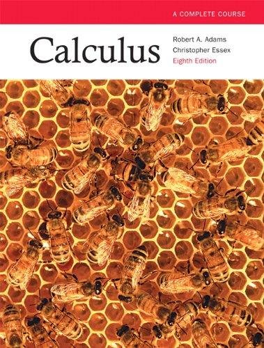 9780321781079: Calculus: a Complete Course