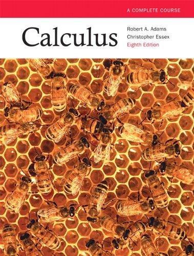 Calculus: a Complete Course: Robert A. Adams