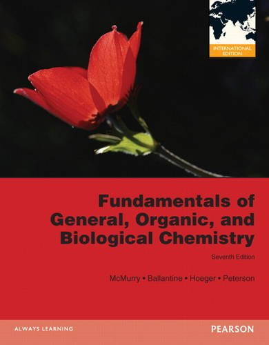 Fundamentals of General, Organic, and Biological Chemistry: McMurry, John E.,