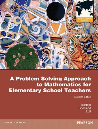 9780321781819: A Problem Solving Approach to Mathematics for Elementary School Teachers